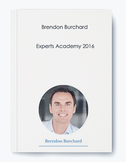 Brendon Burchard – Experts Academy 2016