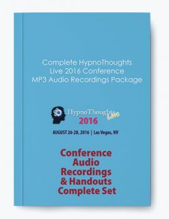 Complete HypnoThoughts Live 2016 Conference MP3 Audio Recordings Package