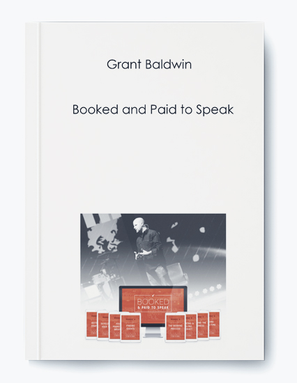 Grant Baldwin – Booked and Paid to Speak