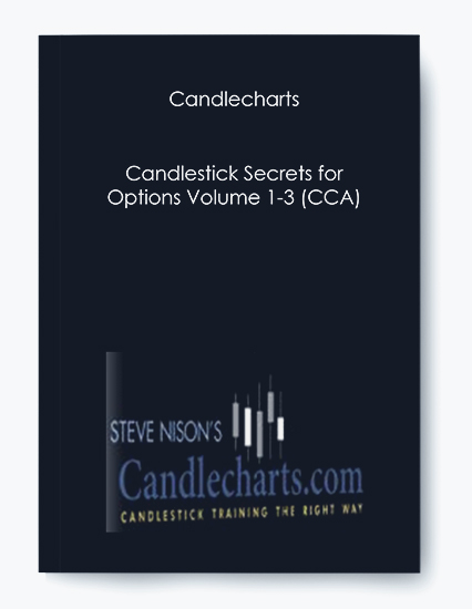 Candlecharts – Candlestick Secrets for Options Volume 1-3 (CCA)