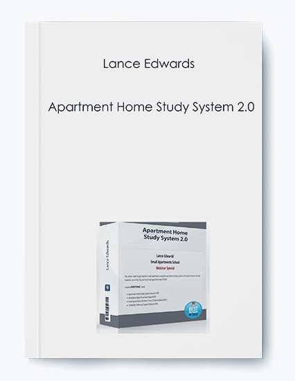 Lance Edwards – Apartment Home Study System 2.0