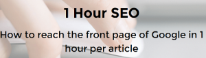 1 Hour SEO | Become a Technical Marketer