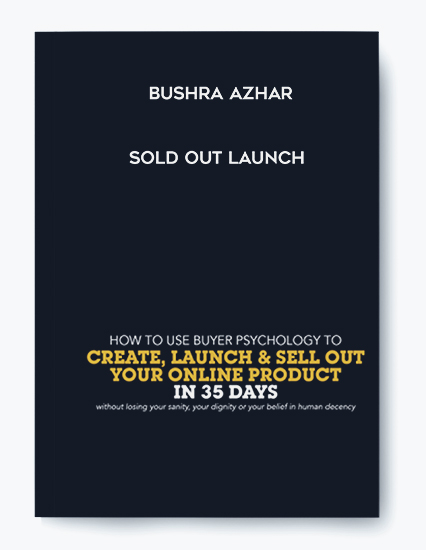 Bushra Azhar – Sold Out Launch