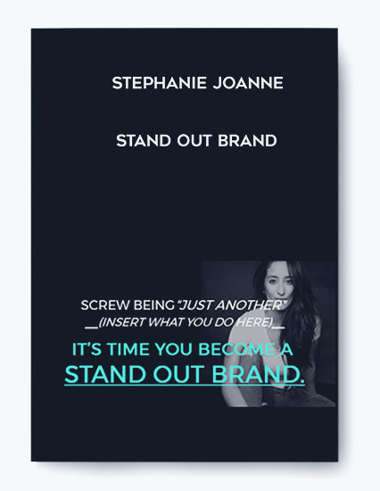 Stephanie Joanne – Stand Out Brand