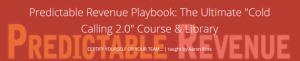 """Aaron Ross – Predictable Revenue The Ultimate """"Cold Calling 2.0″ Course & Library"""