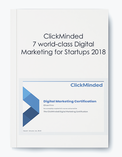 ClickMinded – 7 world-class Digital Marketing for Startups 2018