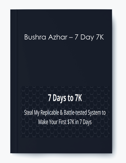 Bushra Azhar – 7 Day 7K