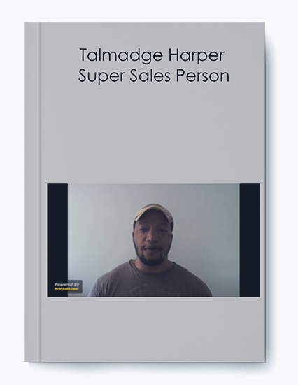 Talmadge Harper – Super Sales Person