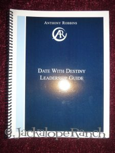 Anthony Robbins - Date With Destiny Leadership Guide 2007