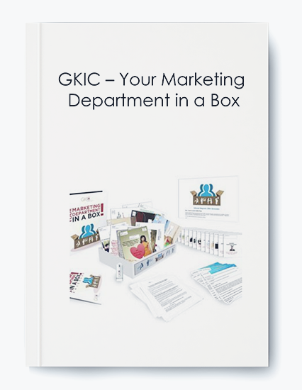 GKIC – Your Marketing Department in a Box