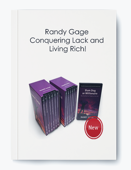 Randy Gage – Conquering Lack and Living Rich!