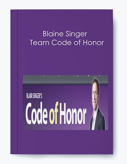 Blaine Singer – Team Code of Honor
