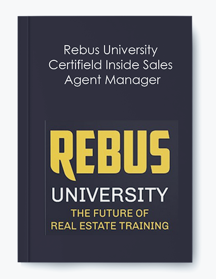 Rebus University – Certifield Inside Sales Agent Manager