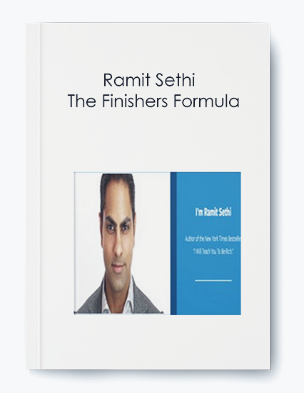 Ramit Sethi – The Finishers Formula