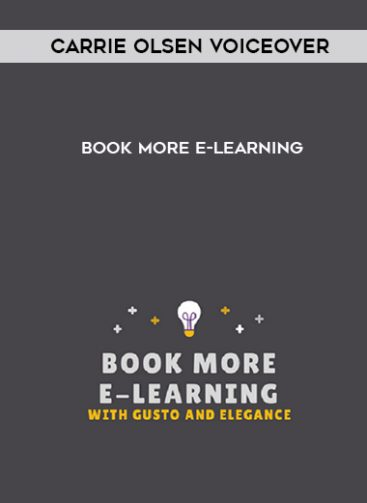 Download Book More E-learning by Carrie Olsen Voiceover at https://beeaca.com
