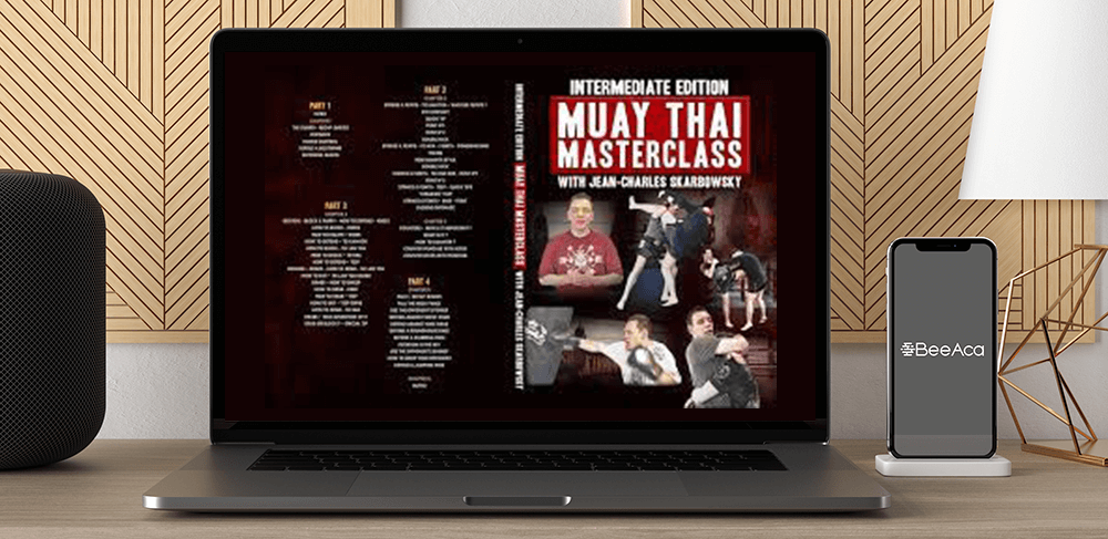Download Intermediate Edition - Muay Thai Masterclass by Jean-Charles Skarbowsky at https://beeaca.com