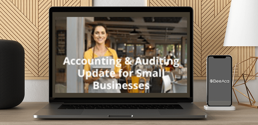 Download Accounting & Auditing Update for Small Businesses at https://beeaca.com