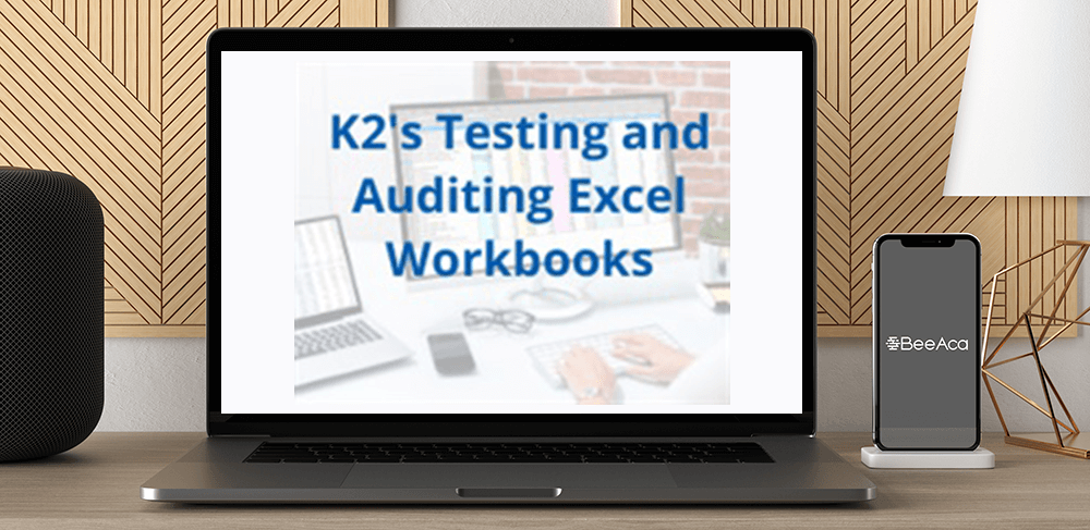 Download K2's Testing and Auditing Excel Workbooks at https://beeaca.com