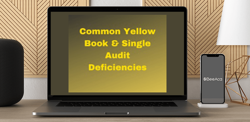Download Common Yellow Book & Single Audit Deficiencies at https://beeaca.com