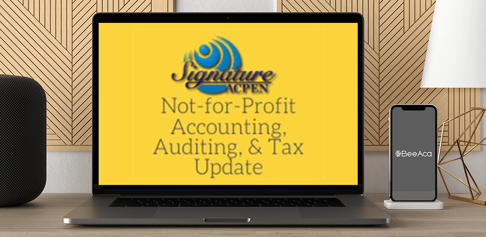 Download ACPEN Signature: 2021 Not-for-Profit Accounting