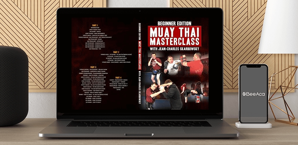 Download Beginner Edition - Muay Thai Masterclass by Jean-Charles Skarbowsky at https://beeaca.com
