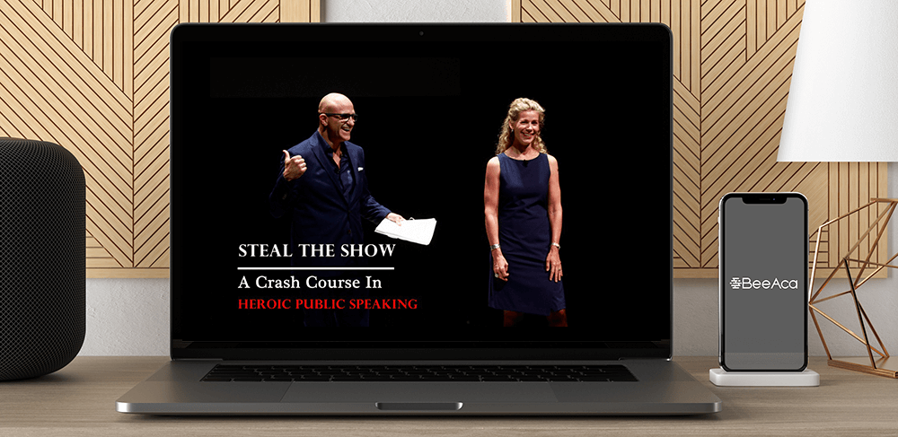 Download Micheal & Amy - Steal The Show A Crash Course In Heroic Public Speaking at https://beeaca.com