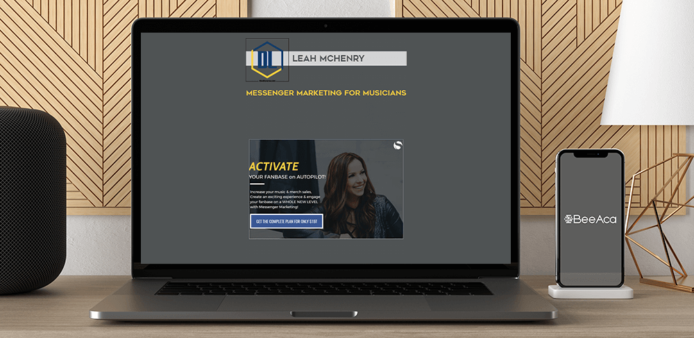 Download Leah McHenry - Messenger Marketing For Musicians at https://beeaca.com