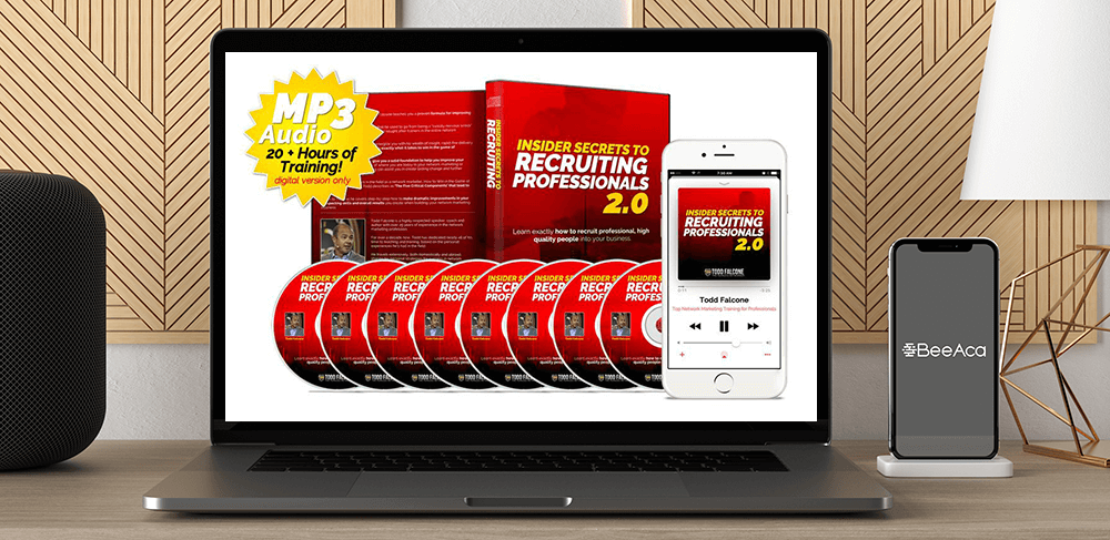 Download Todd Falcone - Insider Secrets to Recruiting Professionals 2.0 at https://beeaca.com