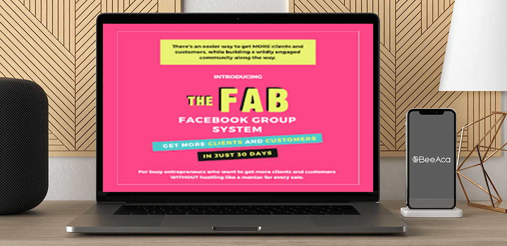 Download Caltlin Bacher - The Fab Facebook Group System 1.0 at https://beeaca.com