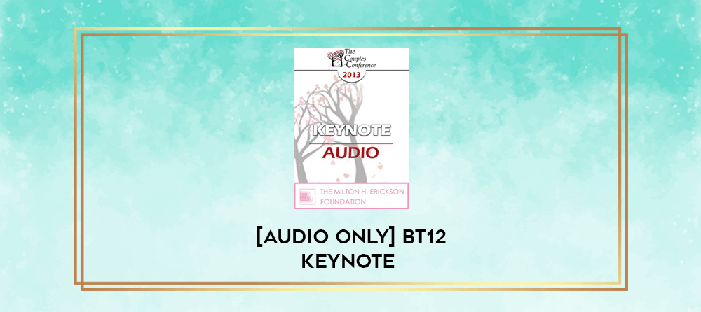 Download [Audio Only] BT12 Keynote 04 – Bargains with Chaos: Challenges and Choices – Patrick Carnes