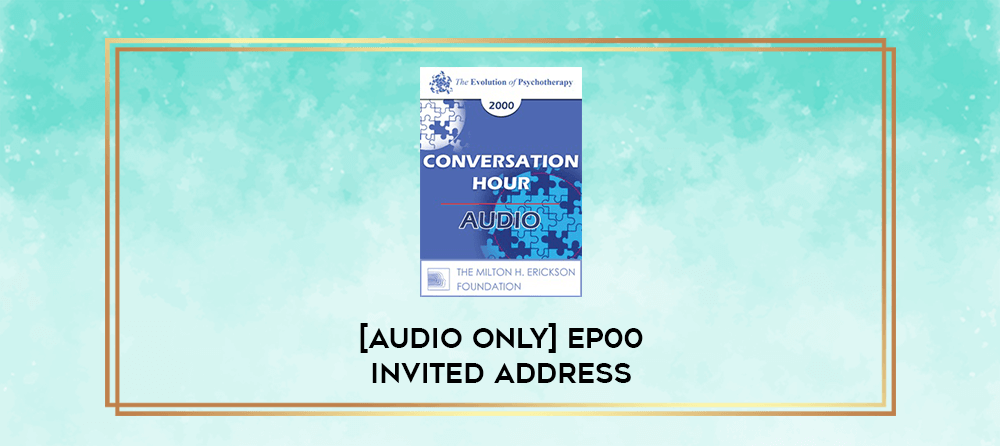 Download [Audio Only] EP00 Invited Address 9b - Interaction: Bridging the Human and Non-Human Worlds - James Hillman