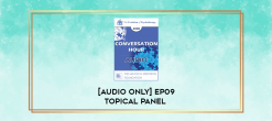 Download [Audio Only] EP09 Topical Panel 18 – Approaches Derived from Milton Erickson: Compare and Contrast Solution-Focused