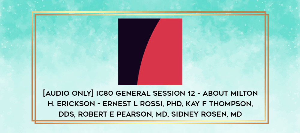 Download [Audio Only] IC80 General Session 09 - Experimental Issues - David Akstein