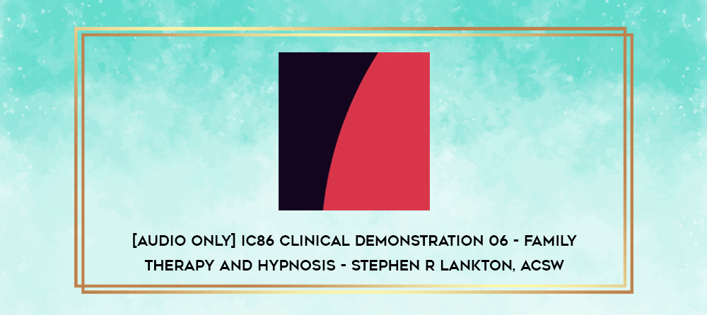 Download [Audio Only] IC86 Clinical Demonstration 03 - Using Dreams to Facilitate Hypnotherapy - Ernest Rossi
