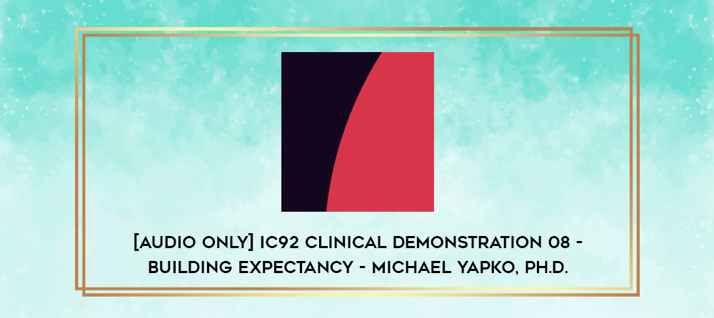 Download [Audio Only] IC88 Clinical Demonstration 06 - Deep Naturalistic Hypnotherapy - Ernest Rossi