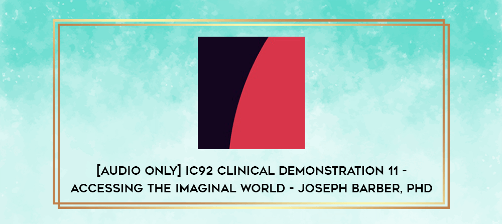Download [Audio Only] IC92 Clinical Demonstration 08 - Building Expectancy - Michael Yapko