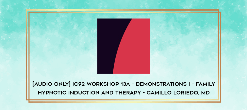 Download [Audio Only] IC92 Clinical Demonstration 14 - A Sensitive Fail-Safe Approach to Therapeutic Hypnosis - Ernest Rossi