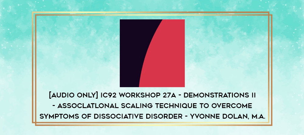Download [Audio Only] IC92 Workshop 13a - Demonstrations I - Family Hypnotic Induction and Therapy - Camillo Loriedo