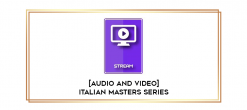 Download [Audio and Video] Italian Masters Series - Therapy Within a Marital System - Milton Erickson at https://beeaca.com